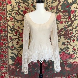 Urban Outfitters Macrame Crochet Style Top XS/S